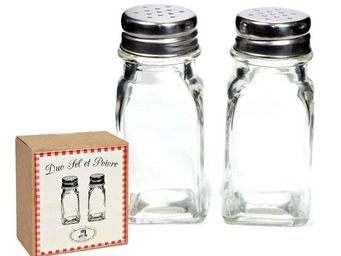 Clementine Creations -  - Saltcellar And Pepperpot