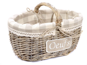 Clementine Creations -  - Wire Egg Basket