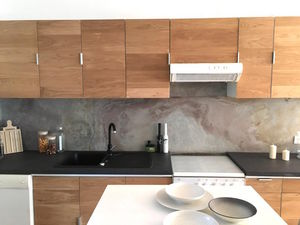 STONELEAF -  - Kitchen Splashback