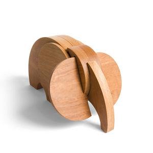 WODIBOW - mastodonte - Wooden Toy