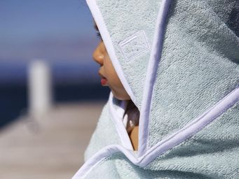 BAILET - carré de bain - libellule - Hooded Towel