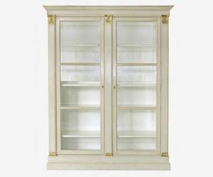 Moissonnier - pilastres - Bookcase