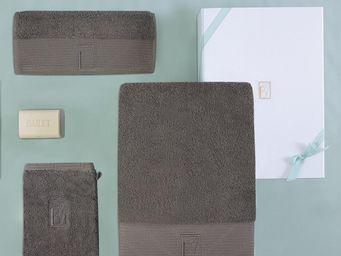 BAILET - coffret cadeau intemporel - linge de bain - - gri - Towel Set
