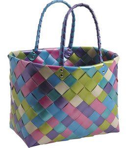 Aubry-Gaspard - cabas multicolore - Shopping Bag