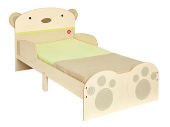 WHITE LABEL - lit + matelas morpho 140*70 cm disney - ourson n°1 - Children's Bed