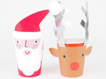 MY LITTLE DAY - pere noël renne - Christmas And Party Tableware