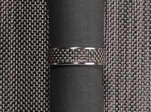CHILEWICH - mini basketweave ring---- - Napkin Ring