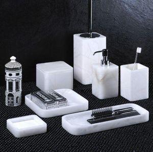 ROOM PIETRA E OGGETTI - siena - Bathroom Accessories (set)