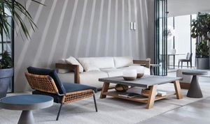 Meridiani - blend - Rectangular Coffee Table