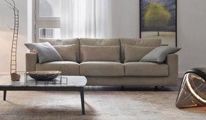 Flou - borgonuovo-- - 3 Seater Sofa