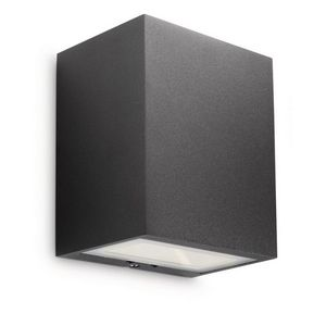 Philips - eclairage extérieur rectangle flagstone led ip44 h - Outdoor Wall Lamp