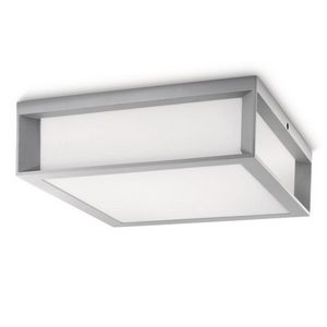 Philips - plafonnier cube extérieur skies l26 cm ip44 - Outdoor Ceiling Lamp
