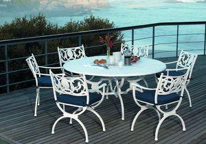 Oxley's -  - Round Garden Table