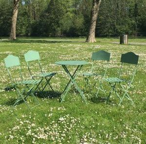 CHEMIN DE CAMPAGNE -  - Folding Garden Chair