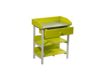 City Green - table de rempotage burano - 45 x 75 x 90 cm - vert - Potting Table