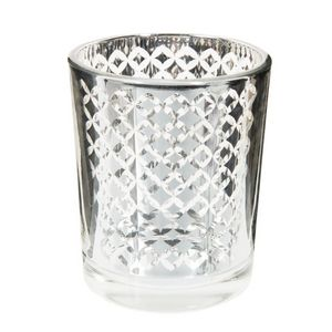 Maisons du monde - graphique silver - Candle Jar