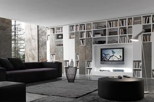 Presotto - pari & dispari - Open Bookcase