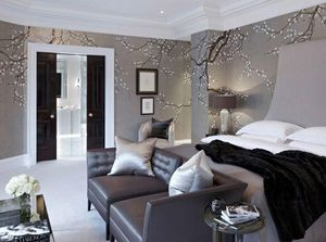 de Gournay - japanese and korean - Wallpaper