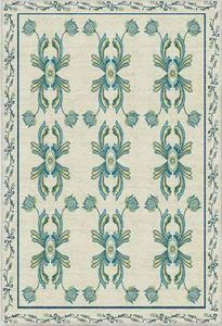 Diurne - azulejos - Modern Rug