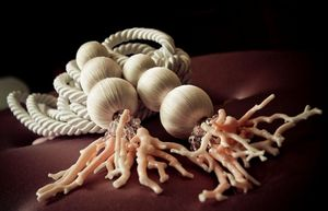 Spina - pink coral - Tieback