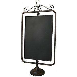 CHEMIN DE CAMPAGNE - ardoise de comptoir à poser sur pied de cuisine do - Bistro Blackboard
