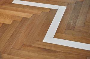 BOHEMIAN WORKS - chevrons-- - Wooden Floor