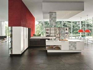 Snaidero - orange.. - Modern Kitchen
