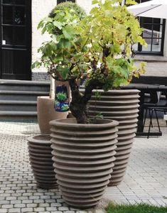 TERRACOTTA D'ARTE - nekuma grigio - Tree Pot