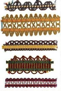 Passementerie Verrier -  - Embroidered Border