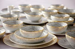 BETHAN GRAY DESIGN -  - Cream Soup Cup And Saucer
