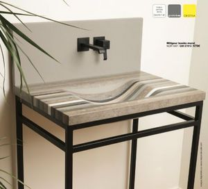 Maison Derudet - black & mat - Wash Hand Basin