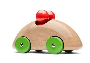 Playsam - streamliner-- - Wooden Toy