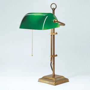Berliner Messinglampen -  - Banker Lamp
