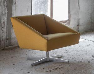 LUXY -  - Swivel Armchair