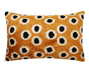 MAISON KHEL - silky velours pois savane - Cushion Cover