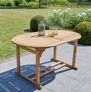 BOIS DESSUS BOIS DESSOUS - 6 à 8 places - Garden Oval Table