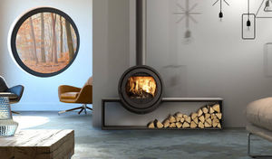 Platonic Fireplace - odin - Closed Fireplace