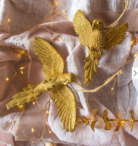 Graham & Green - gold parrot - Christmas Tree Decoration