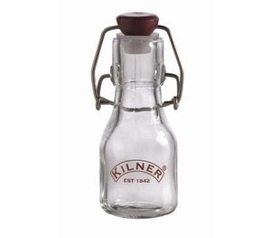 Mechanical closing bottle