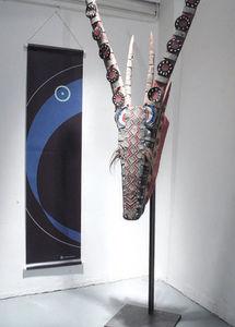 GALERIE KAKEBOTON -  - Vertical Hanging Banner