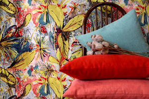 LALIE DESIGN - panama anis - Fabric By The Metre