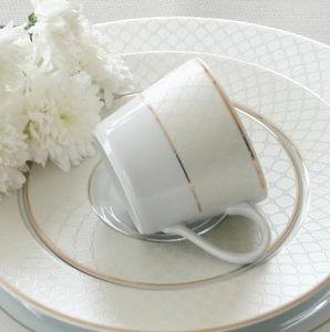 TASSE & ASSIETTE - l'or du temps - Tea Cup