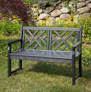 Casa Bruno - -chippendale_ - Garden Bench