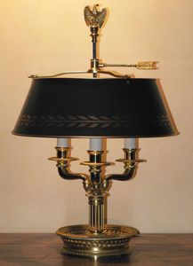 MG et MONTIBERT -  - Library Lamp