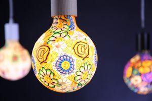 NEXEL EDITION - fleurie flower- - Led Bulb With Strand