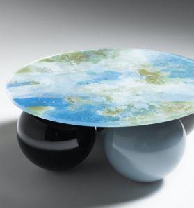 LE BERRE VEVAUD - guillia - Round Coffee Table