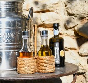 ROTIN ET OSIER - clara-- - Oil And Vinegar Cruet