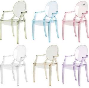 Kartell - lou lou ghost - Children's Armchair
