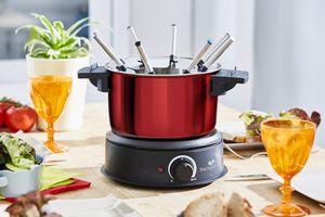 Electric fondue device