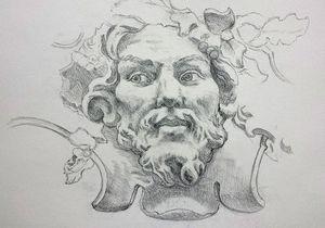 Atelier Follaco - mascaron - Fresco
